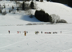 Cross-Country ski trail, Prenovel ski Resort