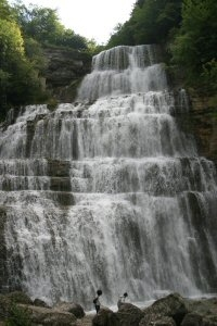 Cascades du Hérisson, l'Eventail